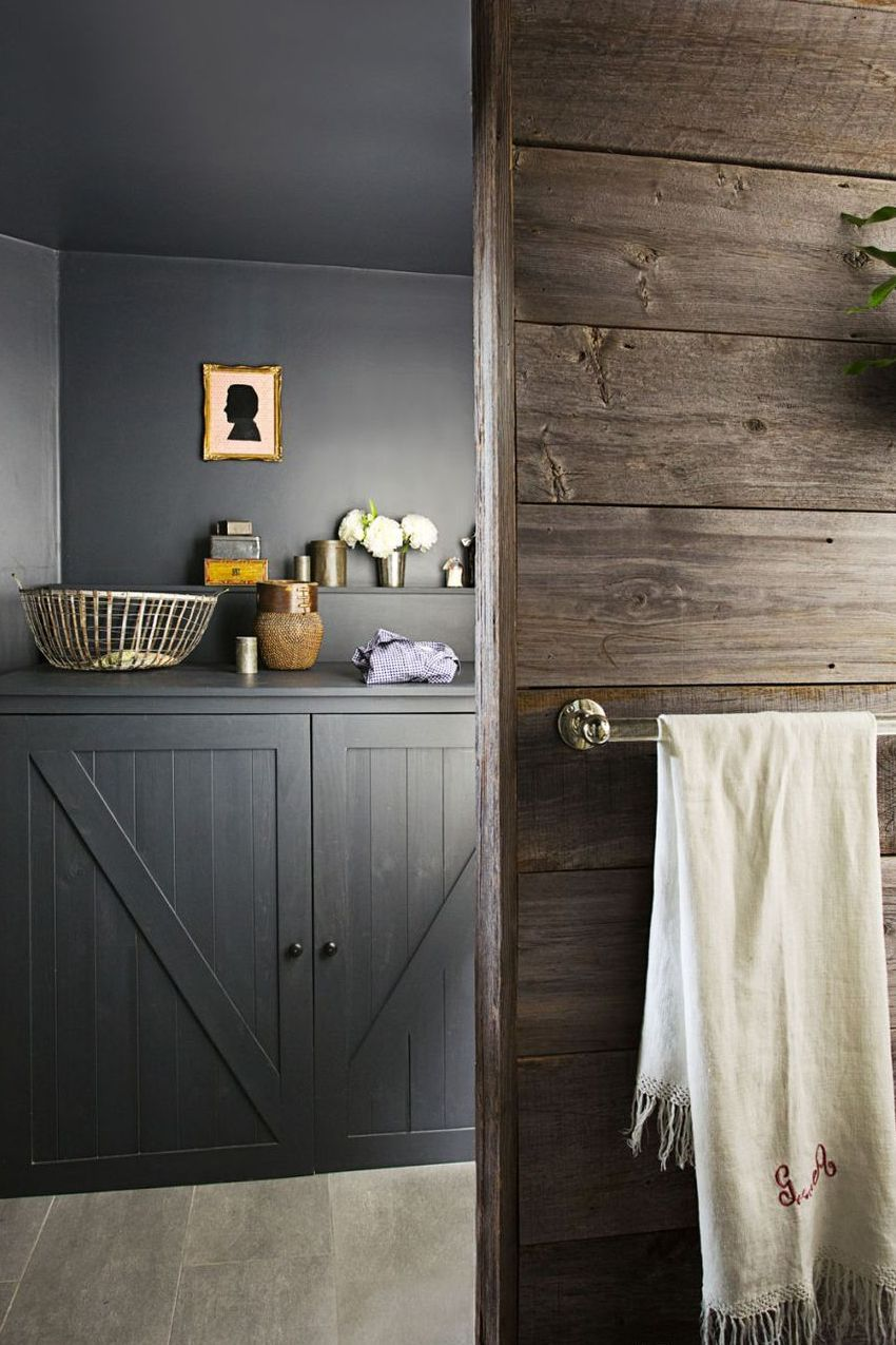 25 Inspiring Laundry Rooms That Would Actually Be a Joy to ... on Small Space Small Bathroom Ideas With Washing Machine id=80190