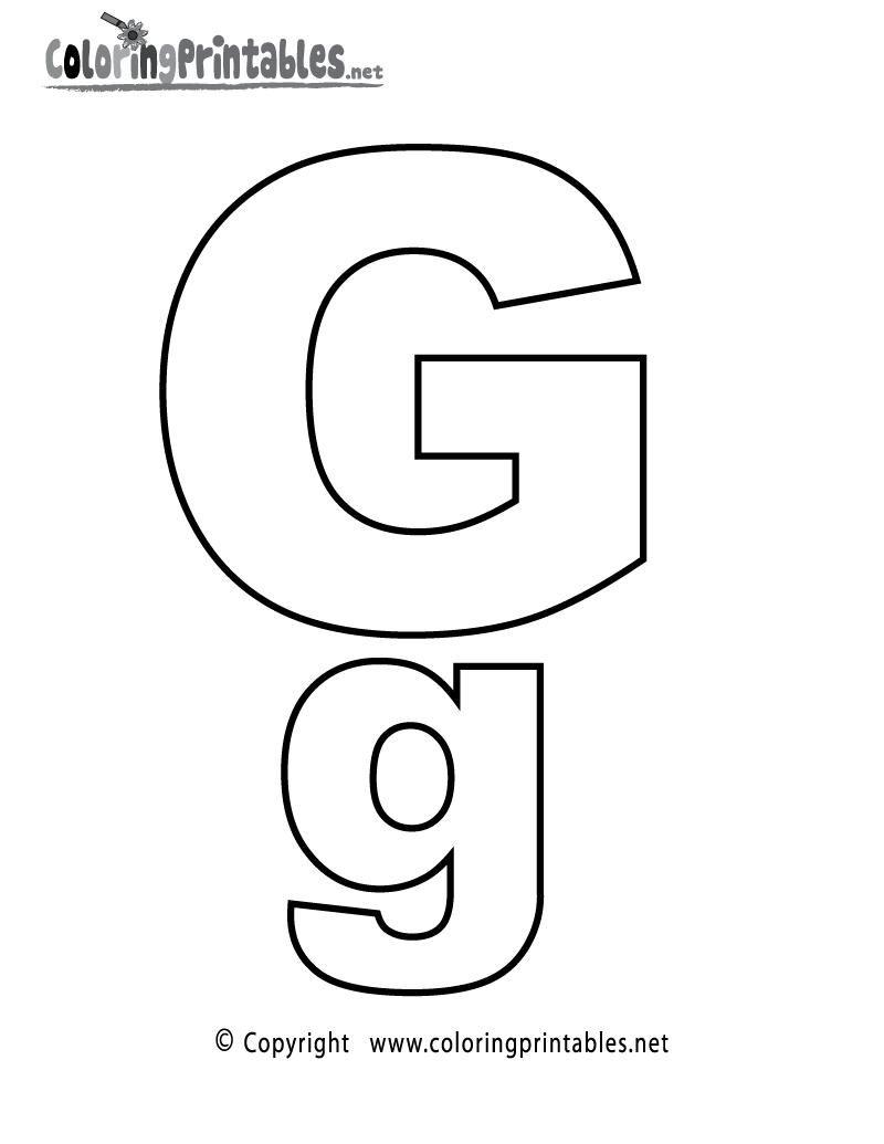 42 Printable Colouring Alphabet Letters Alfabet