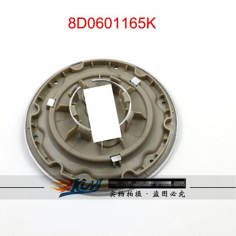 4 x 50mm Adesivi Cerchi in lega effetto cromo adatti HYUNDAI center cap bAdge Trim
