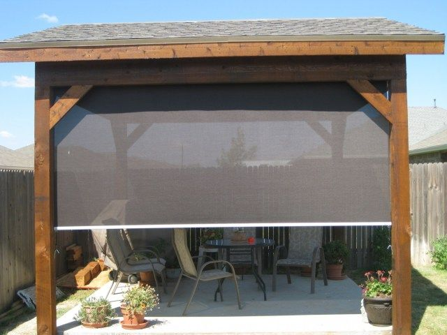 Privacy Shade For Patio