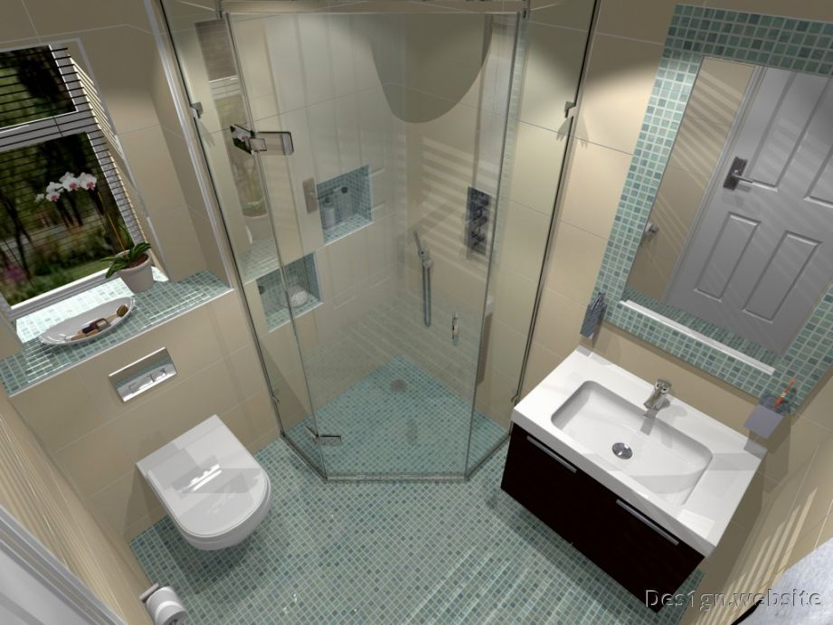 Marvelous Small En Suite Bathrooms Ideas Part - 9: Small Ensuite Bathroom Design Ideas