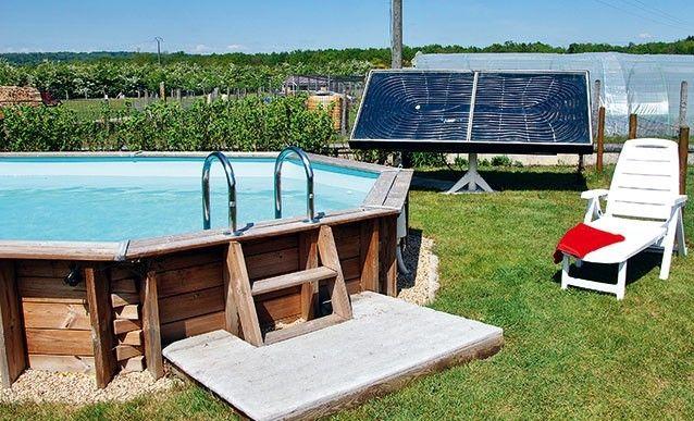 Installer un panneau solaire pour chauffer lu0027eau de la piscine