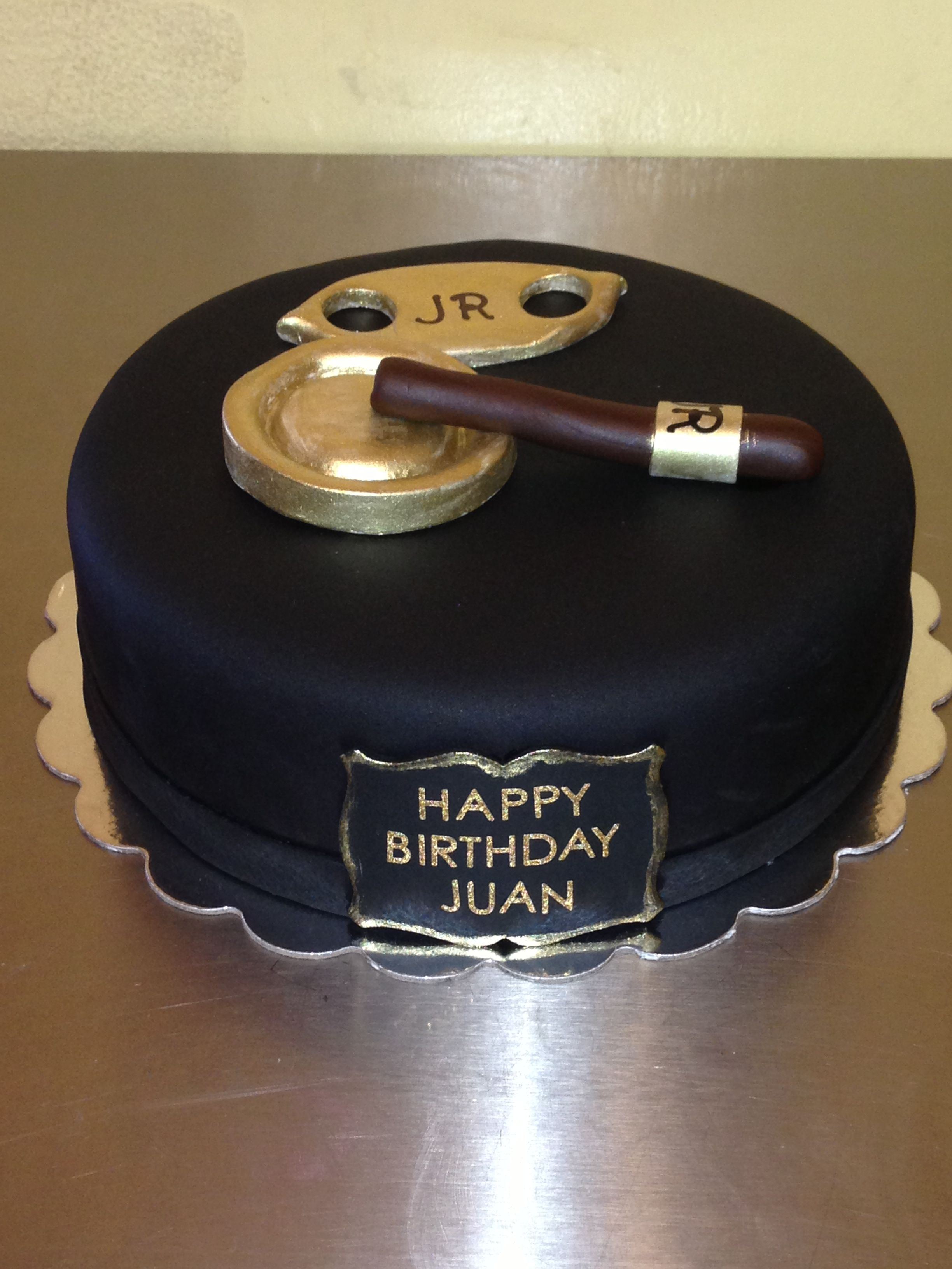 Cigar cake Like us on Facebook: cakes by anny | My Cakes and ...