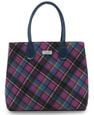 Ness Sa Bag In Rhubarb Classic Tweed 54 99