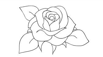 8bf34e21d how to draw a rose different angles - YouTube | sketches | Drawing ...