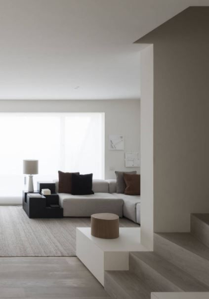 Minimal Apartment Clean Lines And High Ceilings By Vincent