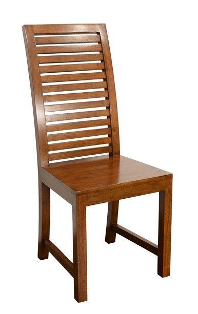 Chaise Hevea Dossier Haut Persienne 45x52x105cm New Orleans Chaise Bois Design Chaises De Table A Manger Chaise Salle A Manger