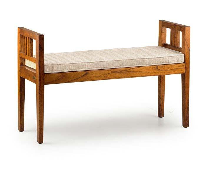 Baqueta auxiliar pie de cama | Mueble | Pinterest | Camas, Banquetas ...