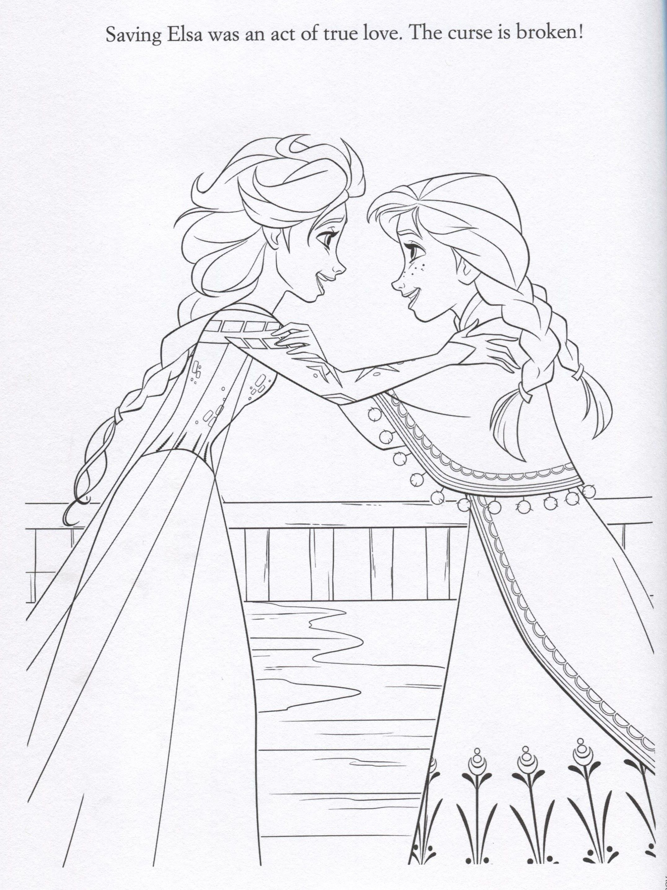 Anna From Frozen Coloring Pages Frozen Image Frozen 36275317