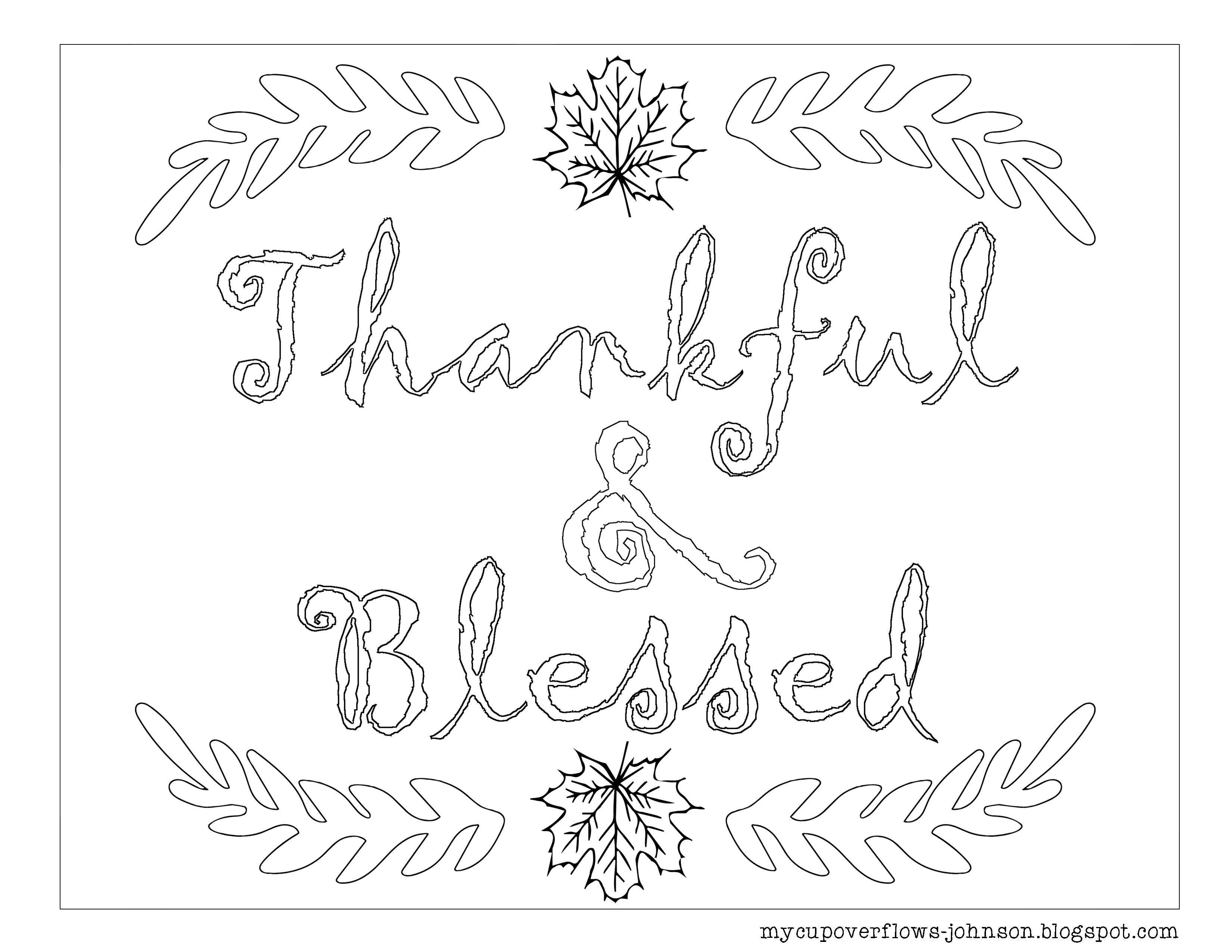 Cute Thanksgiving Coloring Sheet With Grateful Thankful Blessed Quote Coloring Turkey Coloring Pages Thanksgiving Coloring Pages Thanksgiving Coloring Sheets