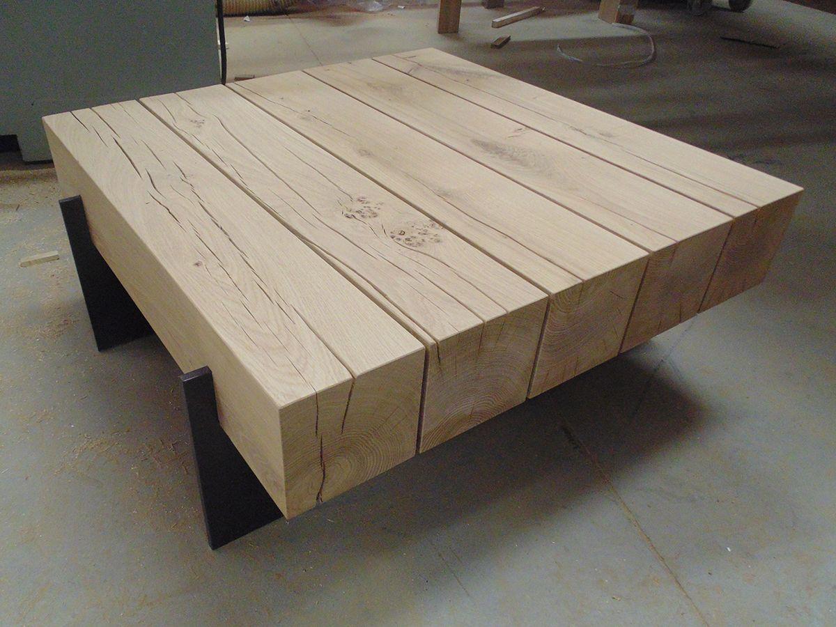 Bildergebnis f r salon tafel hout balk om te maken pinterest salon medium en hout - Tafel boconcept ...