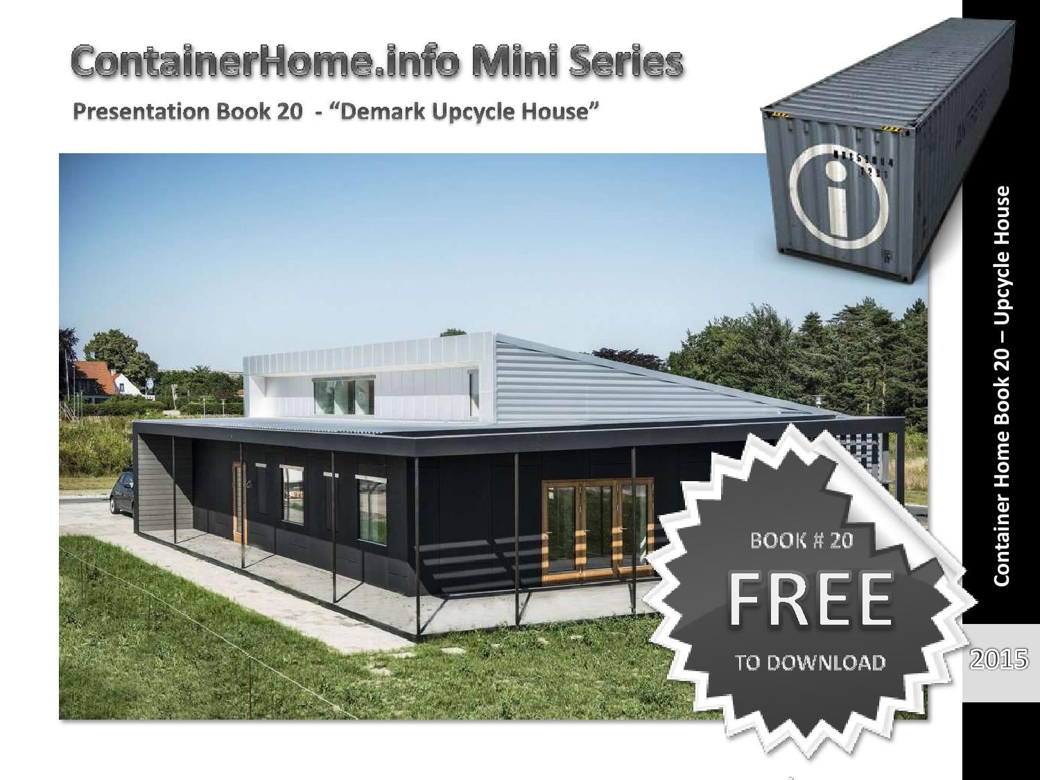 Shipping Container Homes Book 20 | Container häuser, Container und ...