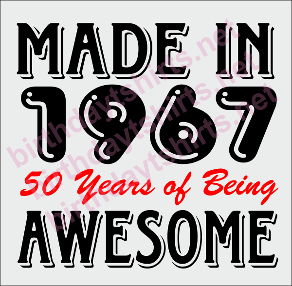 Funny Memes For Turning 50 : Made in years of being awesome th birthday