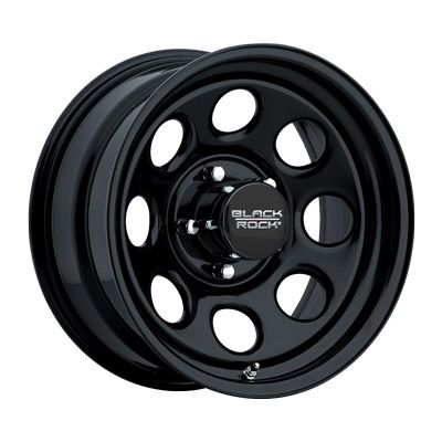 Black Rock Series 997 Type 8 Brw 997685542 Wheel Rims Black Wheels Black Steel Wheels
