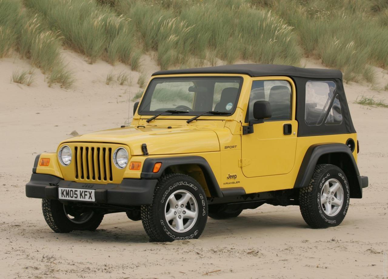 2005 Jeep Wrangler Uk Version Jeep Wrangler Sport Jeep Wrangler Yellow Jeep