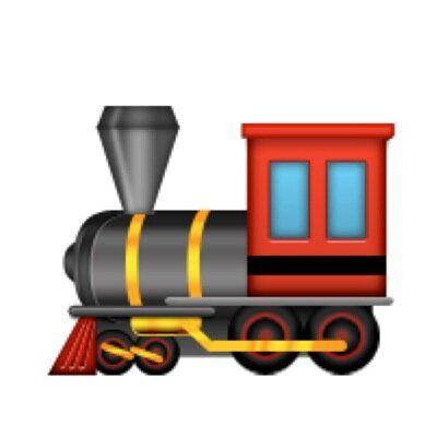 Image result for train emoji   Train emoji, Locomotive