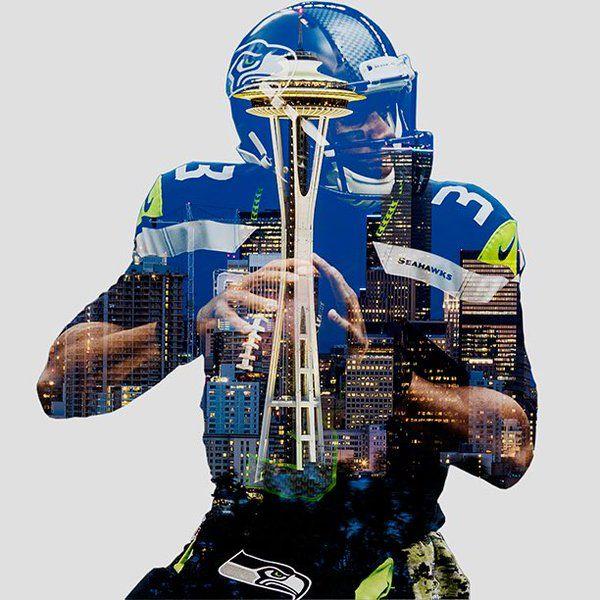 Equal Motion On Seattle Seahawks Nfl Seahawks Wilson