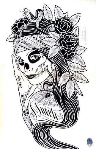 I love it... Day of the Dead... (Dia de los Muertos) | Body Art ...