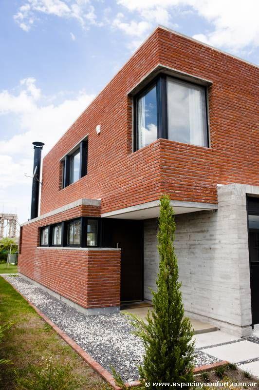 Casas De Ladrillo Visto Modernas