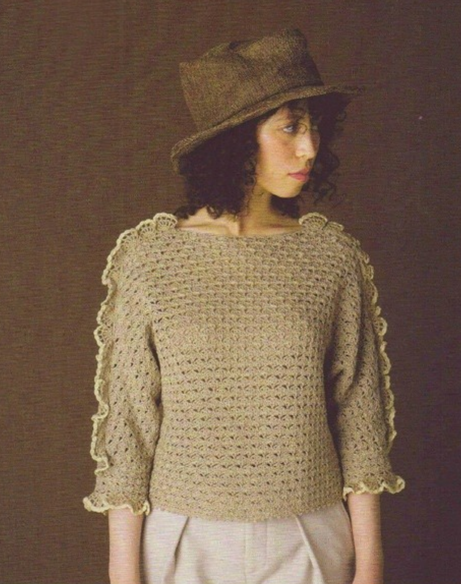 Keito Dama #167 A/W 2015 pattern #40 (Japanese knitting ...