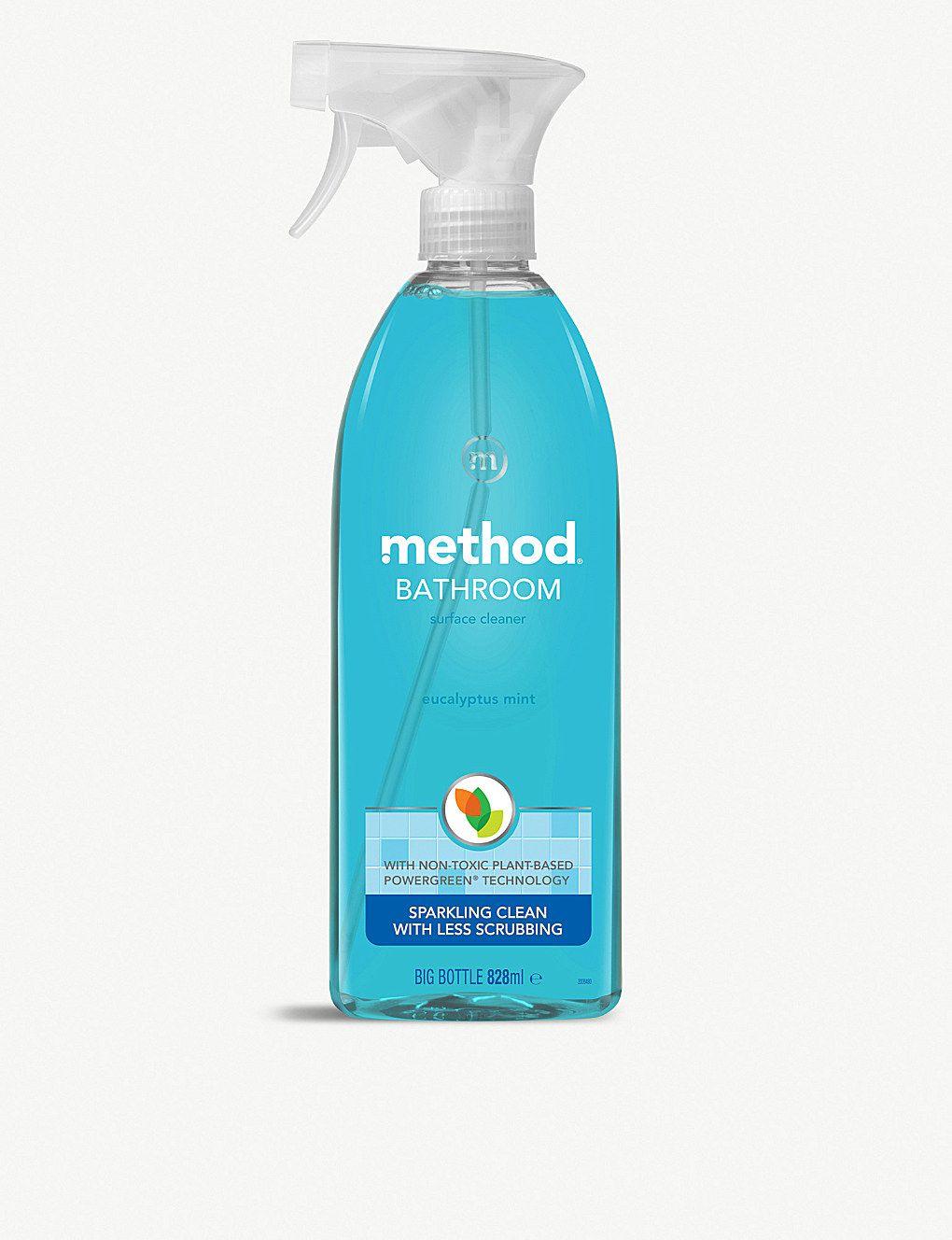 Method Bathroom Cleaner Eucalyptus Mint 828ml Selfridges Com Bathroom Cleaner Eucalyptus Mint Mint Bathroom
