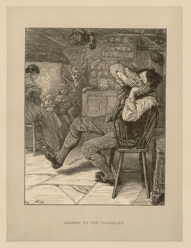 Address to the Toothache, c1860