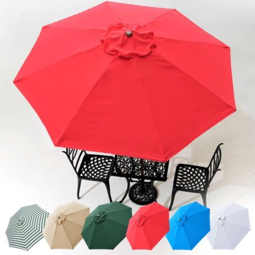 umbrella replacement canopy 8 rib