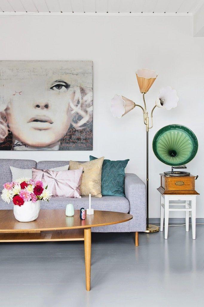 Cool Mix | Living Room | Pinterest | Graues Sofa, Wohnzimmer Und Wohnen Und  Deko