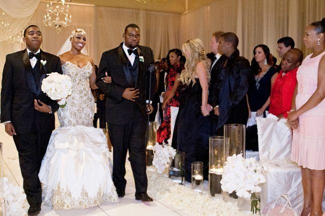 nene and gregg s wedding album weddings wedding housewives of rh pinterest com
