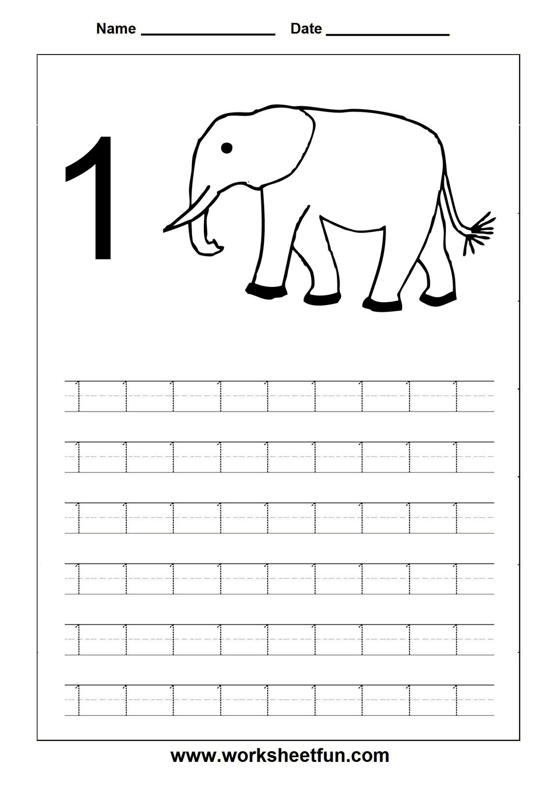 Uncategorized Number 1 Worksheets tracing numbers worksheets school pinterest number worksheets
