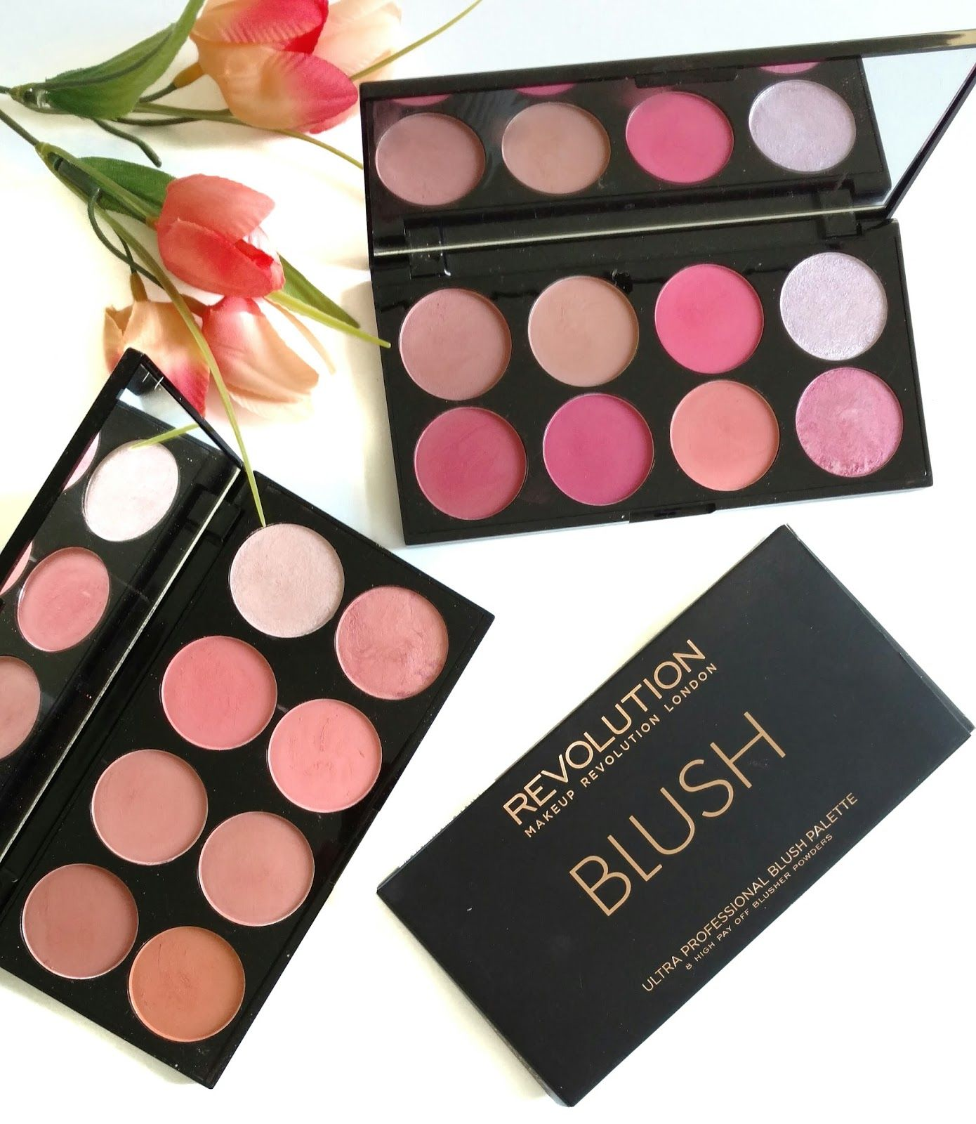 Makeup Revolution Ultra Blush Palettes in Hot Spice