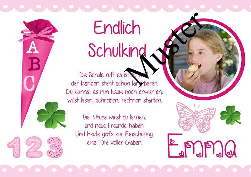 Geschenk Schulanfang Einschulung erster Schultag von Aus Liebe wird Papier auf DaWanda.com