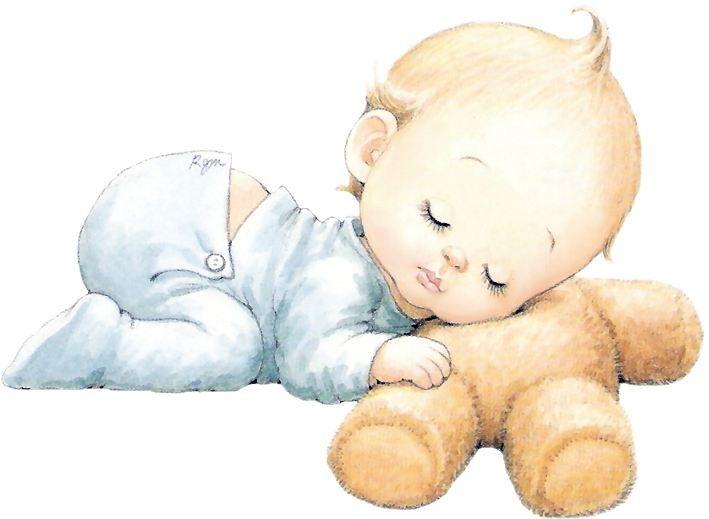 Dibujo De Un Bebe A Color: Dibujos De Bebes Tiernos A Color