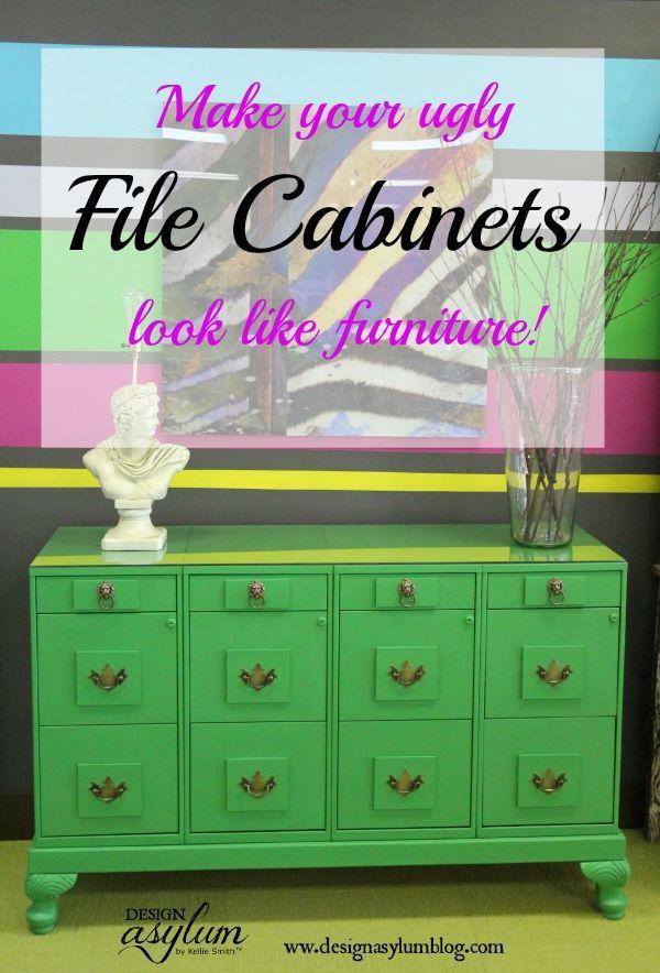 DIY: file cabinet makeover | Easy diy projects, Diy file cabinet ...