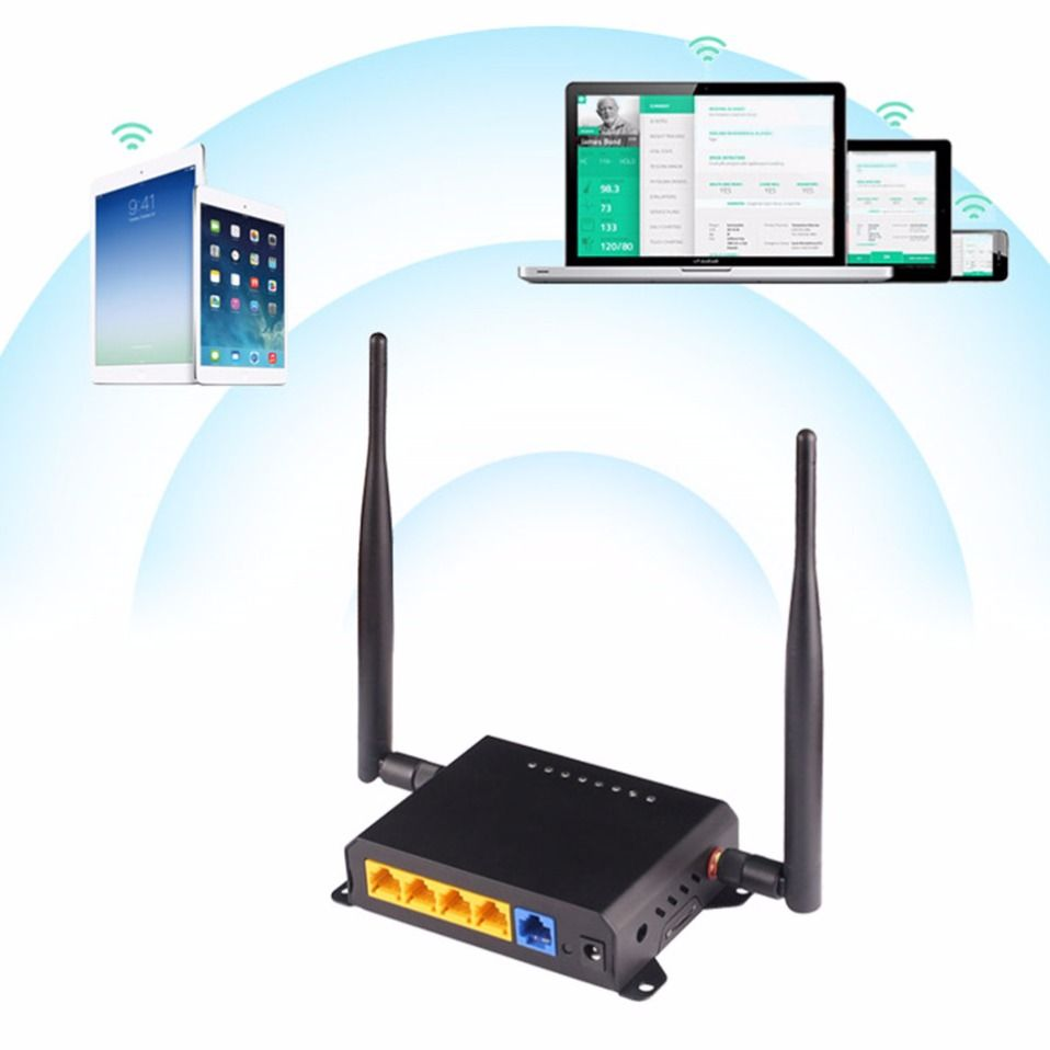 Kuwfi 300mbps Wireless Router 24ghz Long Range Wifi Repeater Huawei Extender Ws331c Through Wall Openwrt