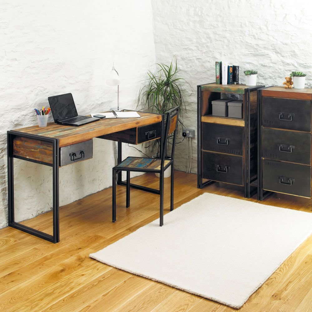 Urban Chic Industrial Computer Desk / Dressing Table