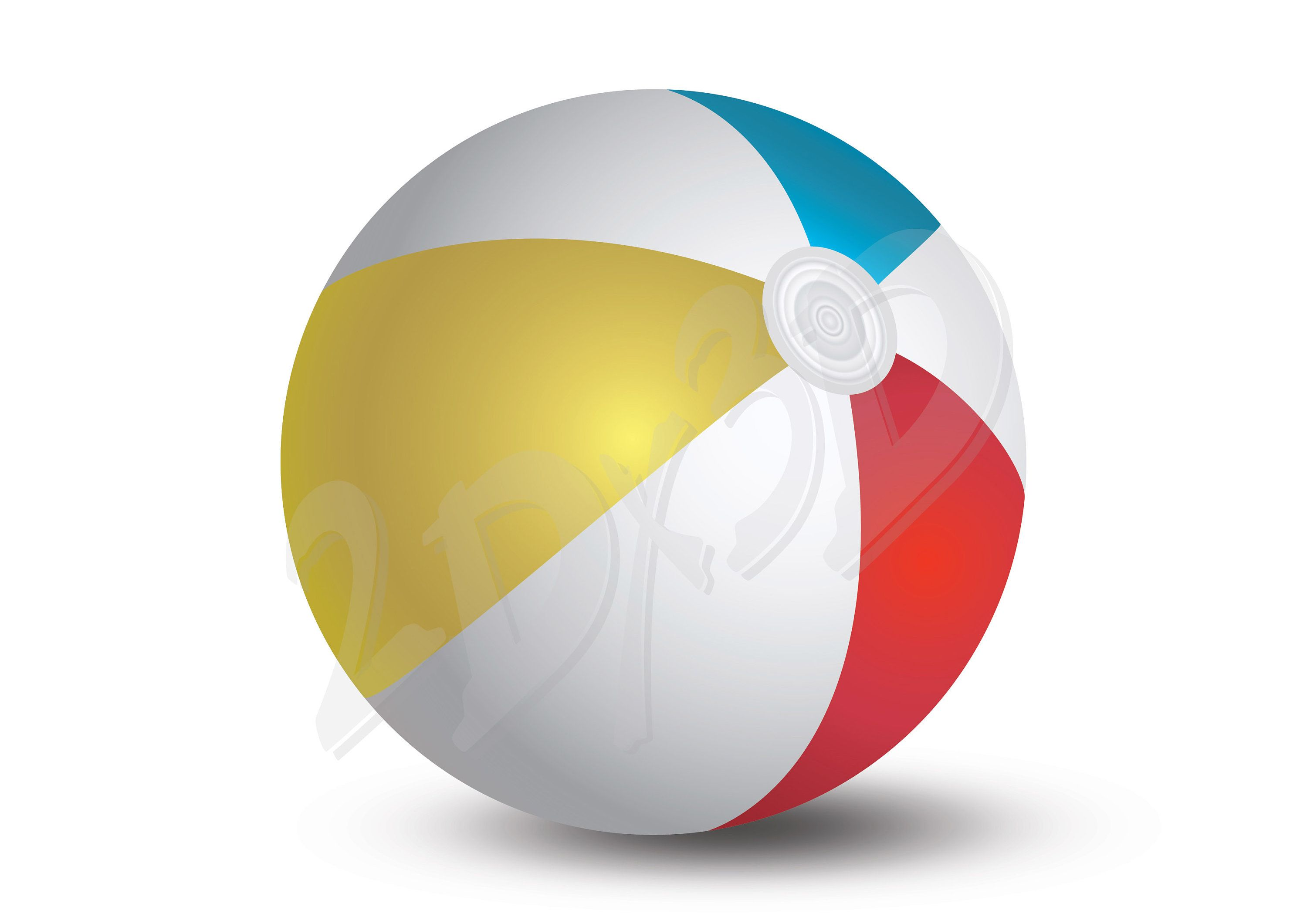 Vector Beach Ball Download Digital Image Graphical Image Ai Eps Png Pdf Svg Jpg Racket Sport Discount Coupon Coupon Design Digital Image Beach Ball