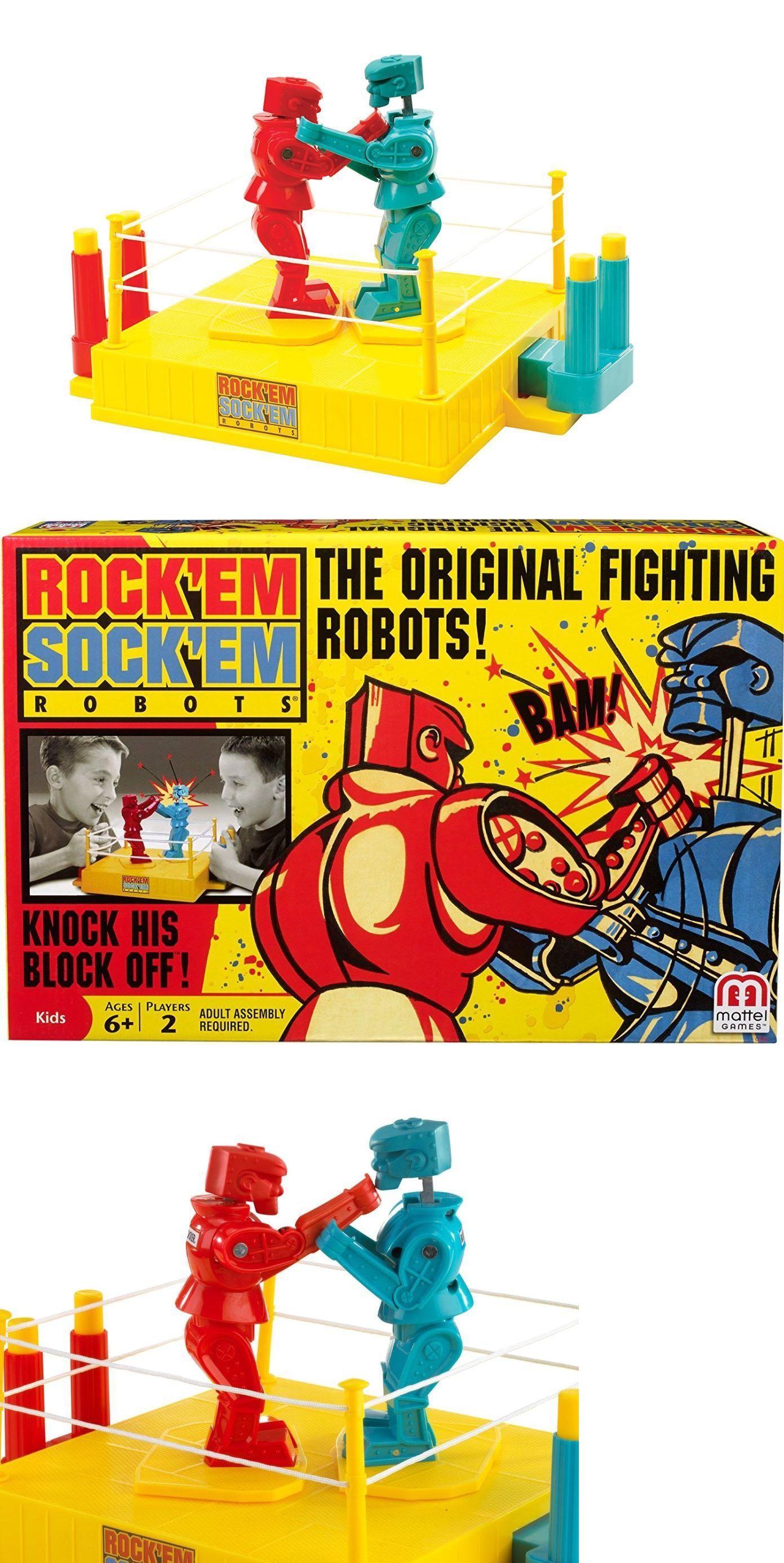 Rockem Sockem Robots 158753: 6 Year Old Boy Toys 7 8 9 Kids Age 2 Player Robot Boxing Game Match Child Gift -\u003e BUY IT NOW ONLY: $29.99 on #eBay #rockem