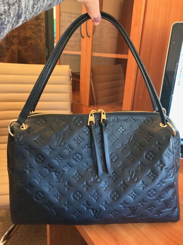 bccb3f6ffda8 NEW AUTHENTIC Louis Vuitton Ponthieu MM Monogram Empriente Leather Handbag   LouisVuitton  Tote