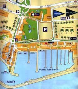 map of Puerto Banus Country wedding ideas Pinterest Puerto