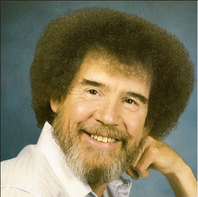 One Doodle A Day Bob Ross Make Me Laugh Funny Memes