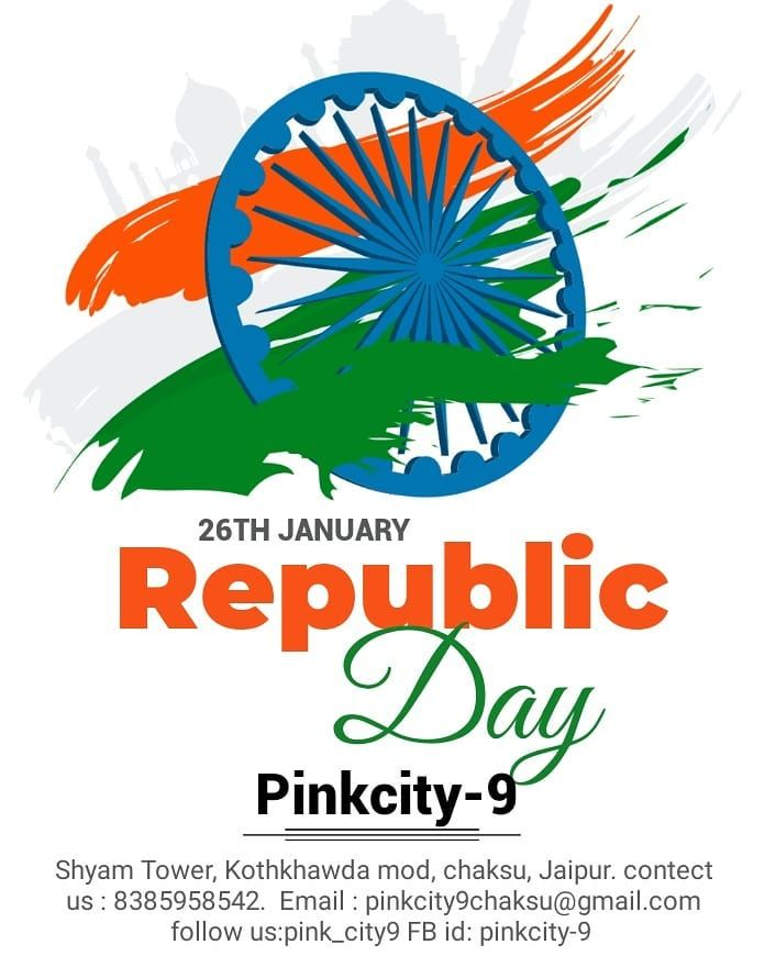 Happy Republic Day all of you ##Pink_city9#healthy india##fit India##fitness##motivated... For see m...