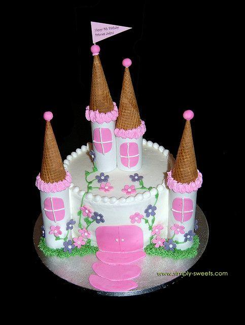 Princess Castle Princess Jadyn by Simply Sweets via Flickr Cakes