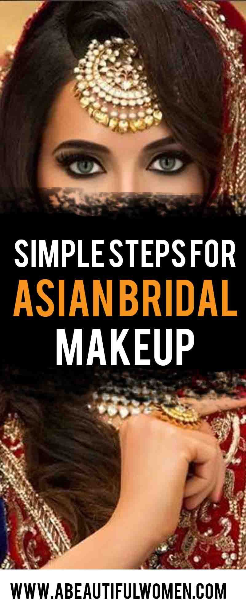 10 Simple Steps For Asian Bridal Makeup aBeautiful Women