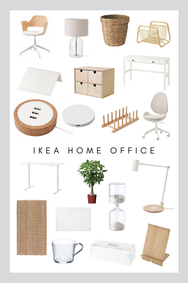 If you are considering investing in creating or updating a home office in Scandinavian style, IKEA can help create a wonderful space to work in. IKEA has many amazing desks, storage ideas, organizers and decorative additions. Their furniture also comes in many varieties and sizes making it easy to add into all types of spaces, providing good options for different home layouts. Here are my favorites from IKEA in 2020 to make the perfect home office.