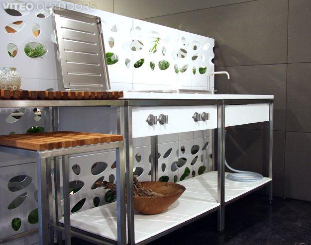 Outdoor Küche Viteo : Viteo modular outdoor kitchen outdoor küche outdoor küche küche