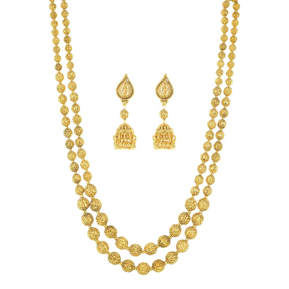 Shop with peace of mind with our money back guarantee and free shipping for Gold Plated Necklace Set2418