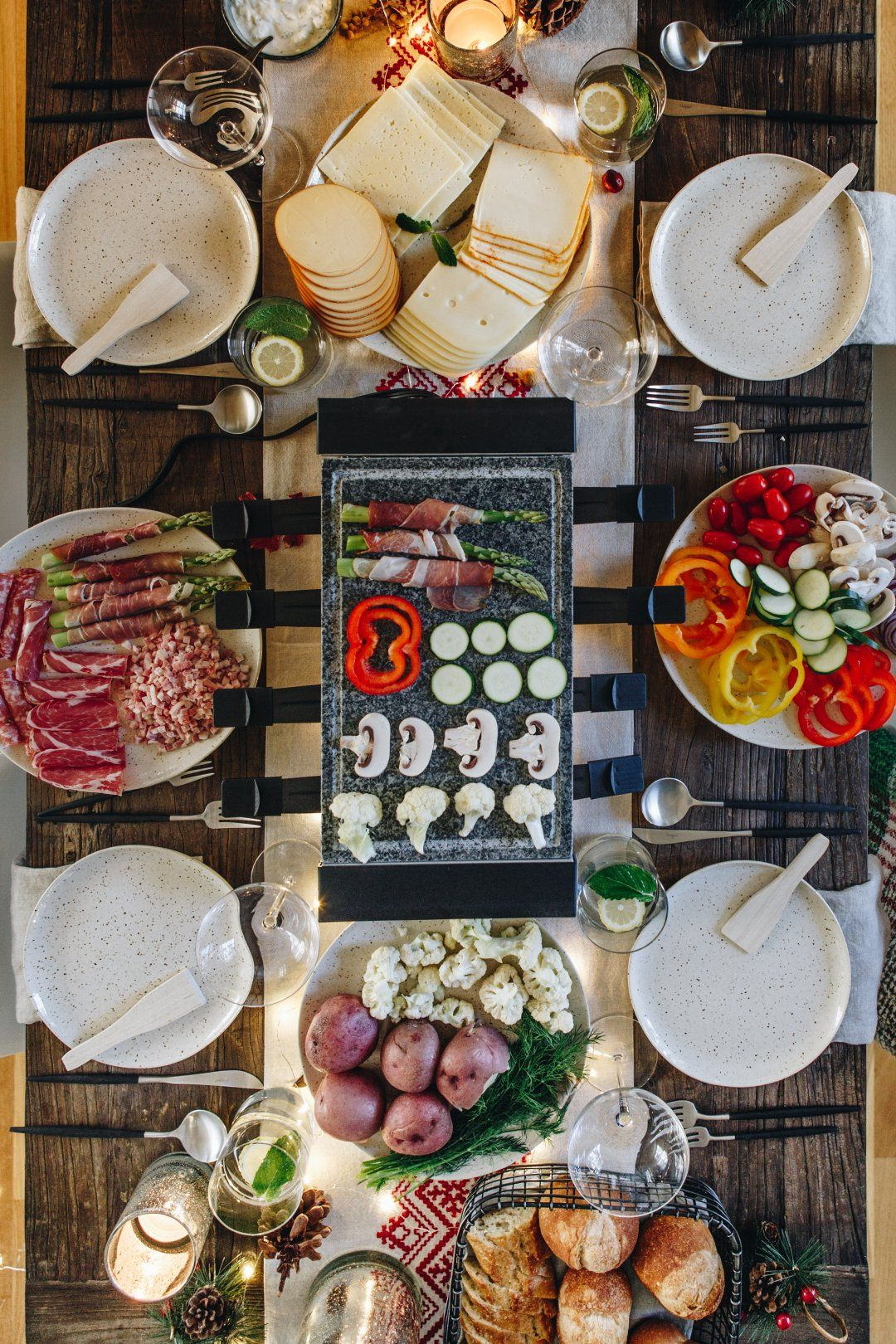 Raclette Party Ideas | Crate and Barrel #racletteideen