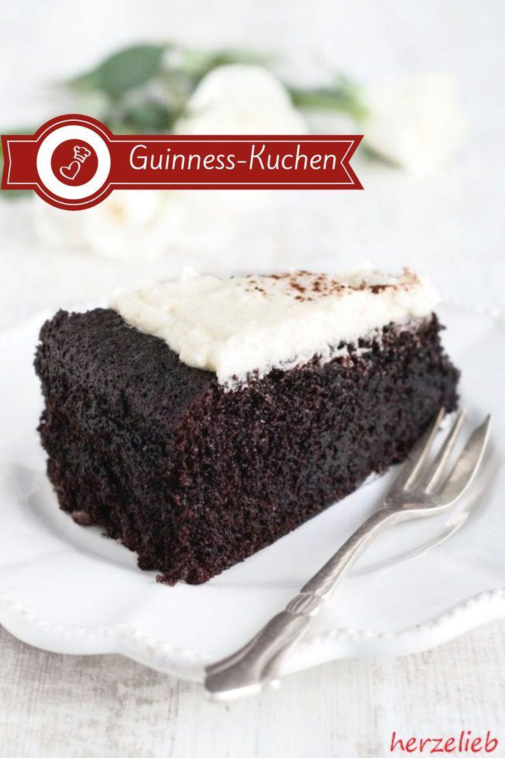 Guinness Kuchen Rezept Saftiger Schokoladenkuchen Rezept Guinness Kuchen Kuchen Rezepte Kuchen Rezepte Einfach