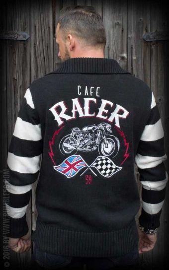 Rumble59 - Racing Sweater - Cafe Racer  rockabillyrules  rumble59 cc1712eae